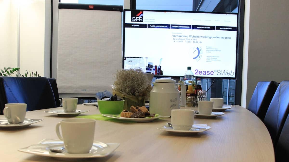 Web SEO Workshop GFR