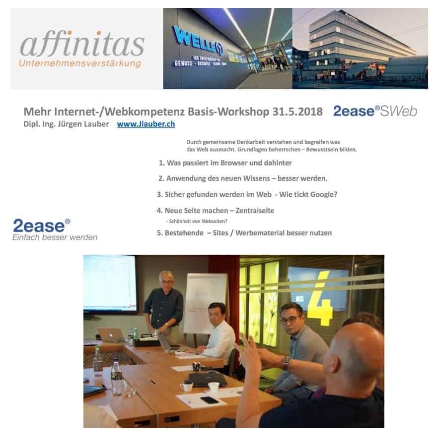 Webkompetenz Workshop Seminar fuer Senior Manager
