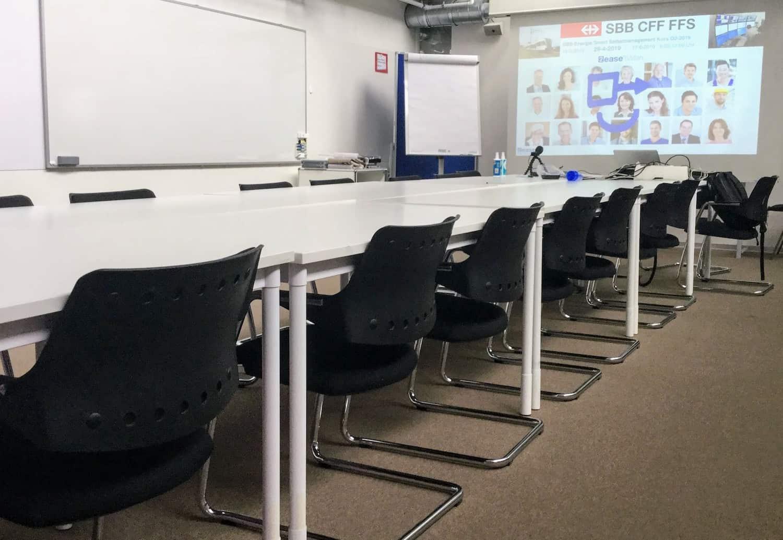 SBB Selbstmanagement Workshop 2 Seminarraum